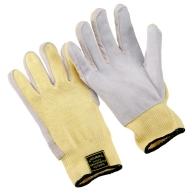 Twaron string knit gloves