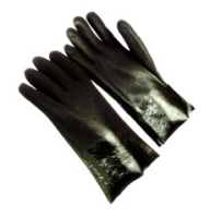 PVC Dipped Gloves Sandy Finish