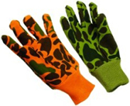Camouflage Jersey Gloves G2109GC
