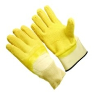 PVC Dipped Gloves Wrinkle Finish