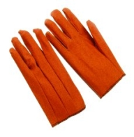 Brown Stretch Vinyl Gloves